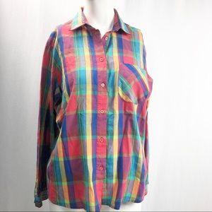 Diane Von Furstenberg Vintage Button Down Blouse
